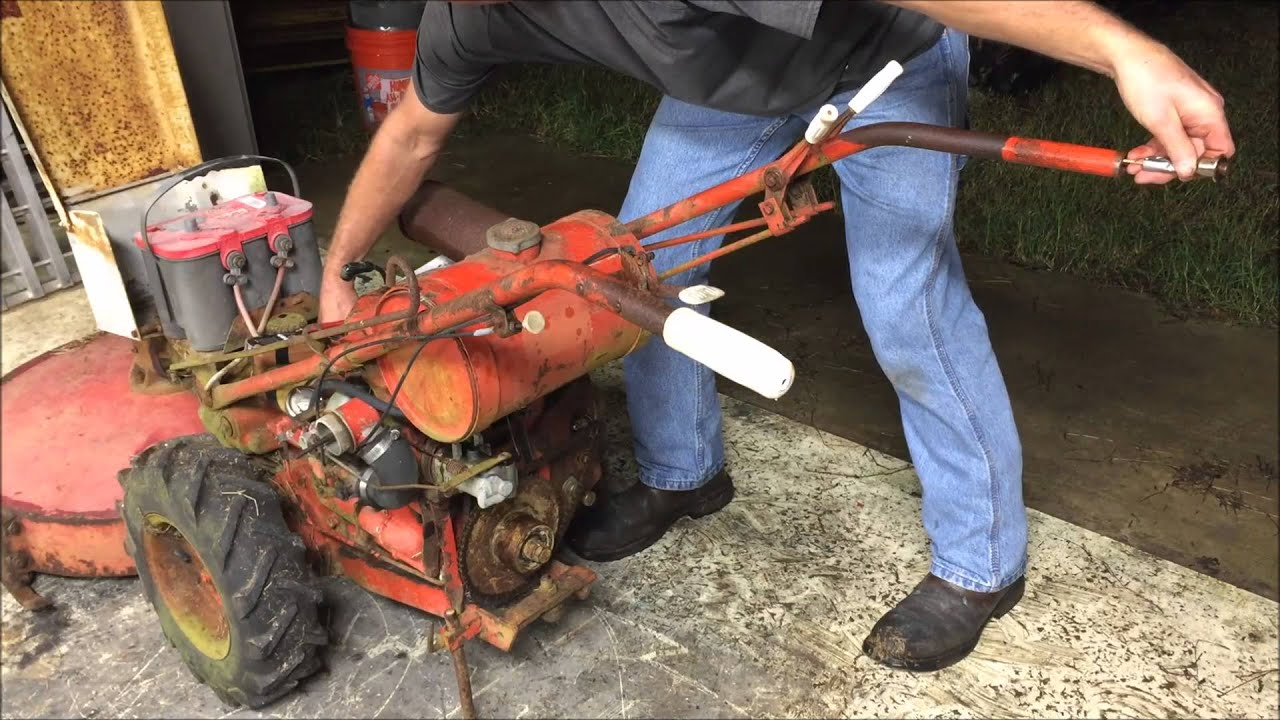 Gravely 5260 Wiring Diagram Electrical Tractor Walk Behind Troubleshooting No Spark Fire Youtube 988019