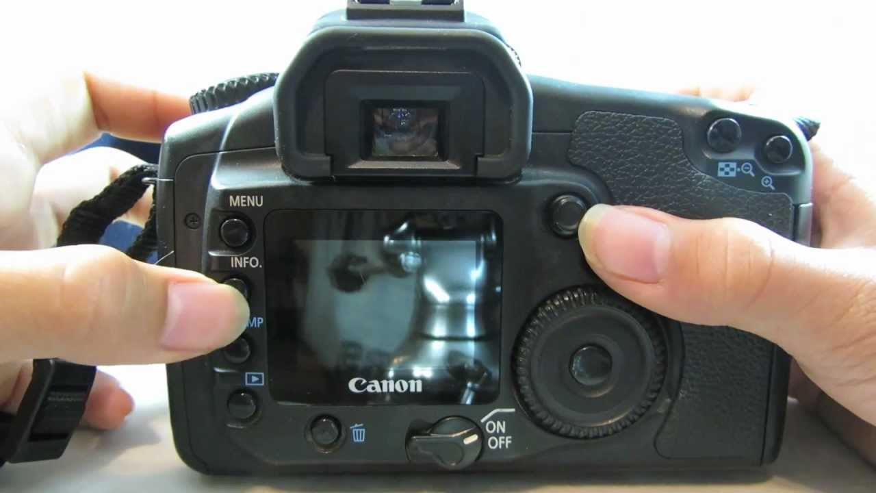 canon eos 20d 8 2mp digital slr camera review tutorial youtube rh youtube com canon 40d manual download canon 300d manual pdf