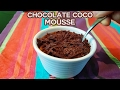 Chocolate Coconut Milk Mousse Recipe - Vegan, Easy, Quick, Dairy free & Refined Sugar Free