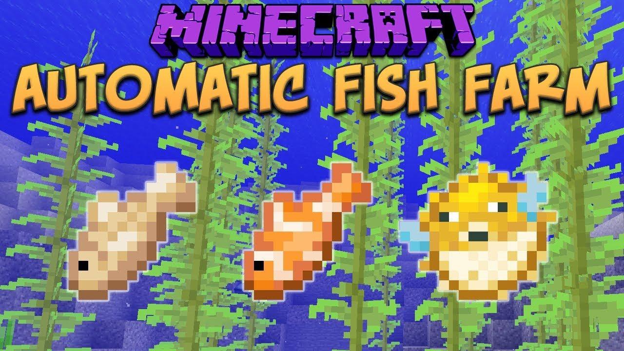 automatic fish farm minecraft 2019
