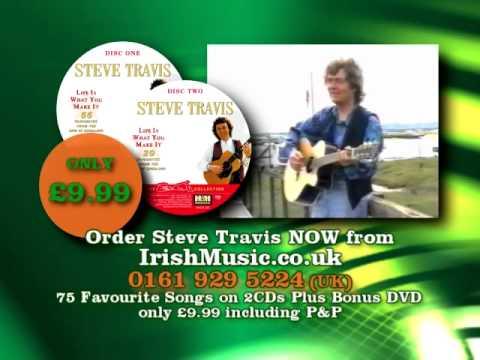 Steve Travis double CD and free bonus DVD from Irish Music