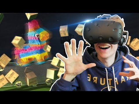 THE PIÑATA SOCCER CHALLENGE | Headmaster VR (HTC Vive Gameplay) #3