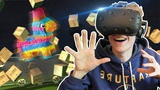 THE PIÑATA SOCCER CHALLENGE | Headmaster VR (HTC Vive Gameplay) #3