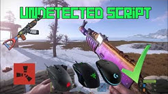 NEW] RUST No recoil scripts | All guns | All attachments