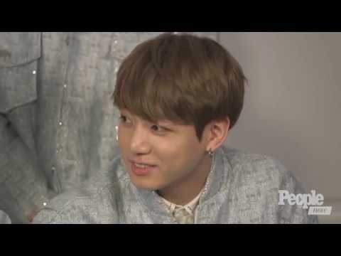 BTS People interview without any actual dialogue