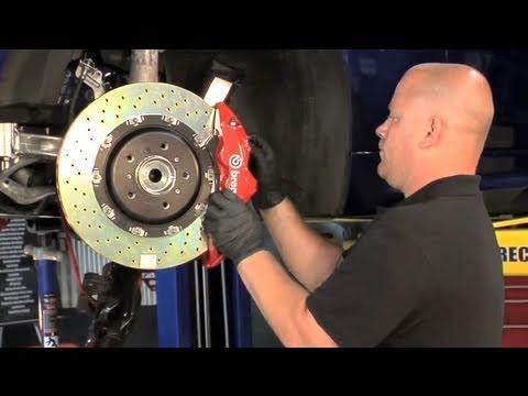 Brembo GT brake install on E9x BMW M3