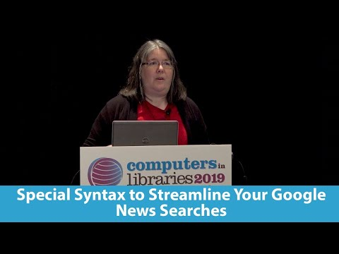 Special Syntax to Streamline Your Google News Searches