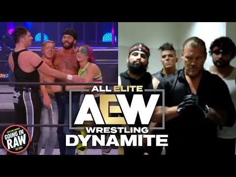 Big Returns And NEW Faction Forms In AEW   AEW Dynamite Review & Results   Going In Raw