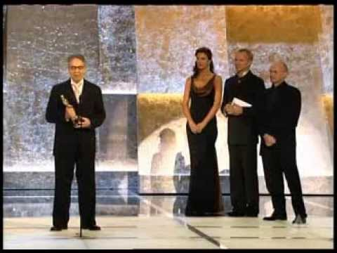 "Howard Shore winning Original Score for ""The Lord of the Rings: The Return of the King"""