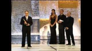 """Howard Shore winning Original Score for """"The Lord of the Rings: The Return of the King"""""""