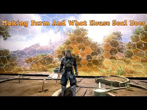 Starting Farm And How To Use House Seal-Dark And Light Lets