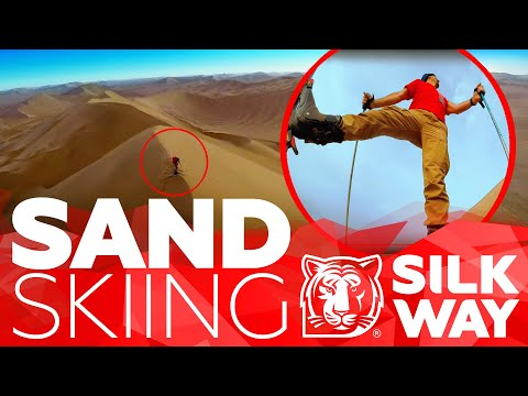 Luc Alphand went skiing in the sands of Silk Way Rally | Silk Way Rally 2020🌏