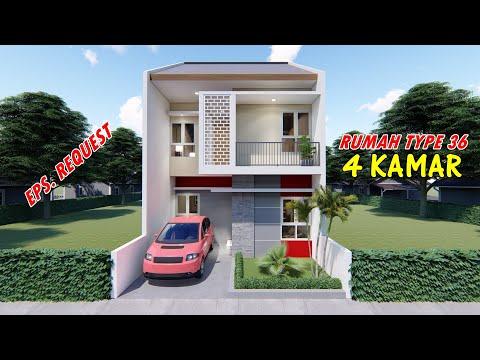 rumah-type-36-dua-lantai-4-kamar-tidur
