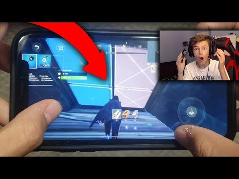 REACTING To The NEW BEST IPhone Player On Fortnite Mobile...