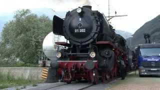 linea  Gottardo  treni  a vapore / dampfzug