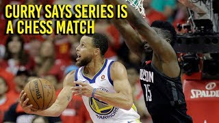 NBA Playoffs: Curry says series will be chess match