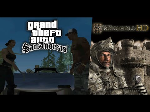 Grand Theft Auto: San Andreas ► СТРИМ 5 + Stronghold по часу на игру