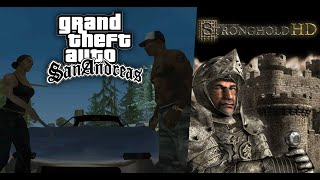 Grand Theft Auto San Andreas ► СТРИМ 5  Stronghold по часу на игру