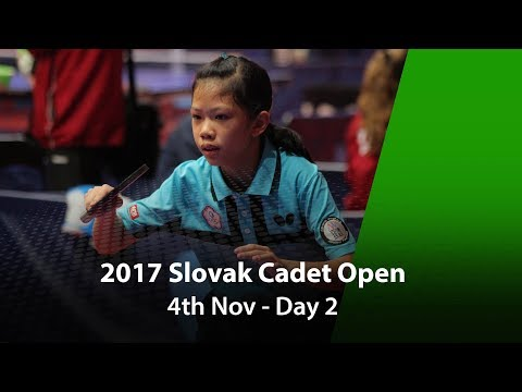 2017 Slovak Cadet Open, ITTF Junior Circuit - Day 2