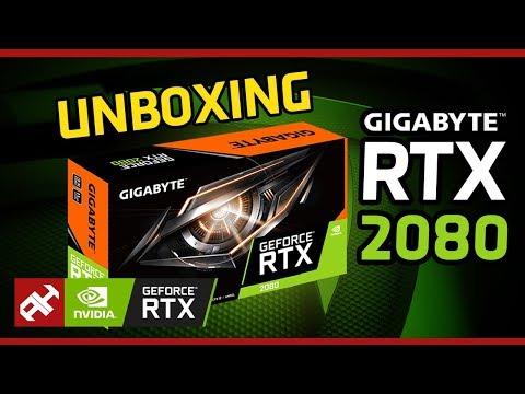 فتح صندوق الوحش Gigabyte GeForce RTX 2080 GAMING OC