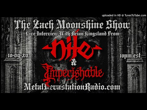 Nile - Interview 2020 - The Zach Moonshine Show