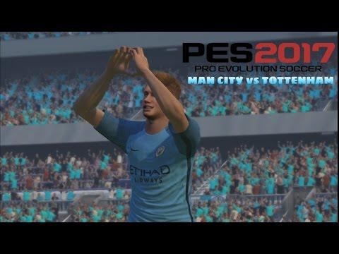 PES 2017 PC | PesGalaxy Hybrid Patch | Fluid Formation | City vs Tottenham