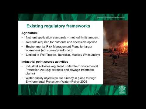 Webinar - Regulatory Impact Statement for broadening and enhancing reef protection regulations