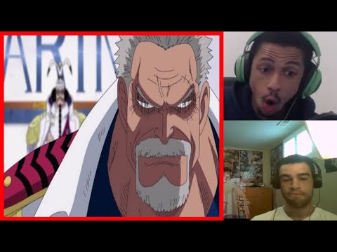 Why Monkey D Garp is called the HERO of the NAVY REACTION MASHUP