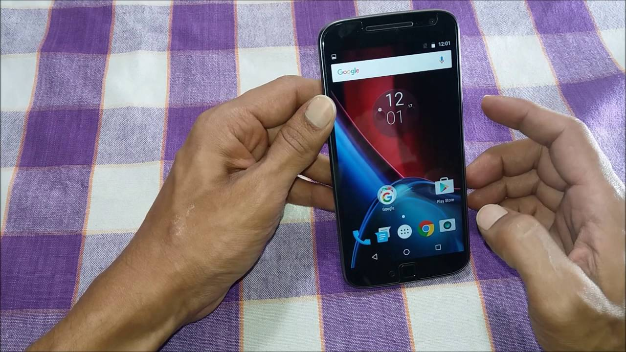 How To Take Screenshot On Moto G4 Plus Youtube