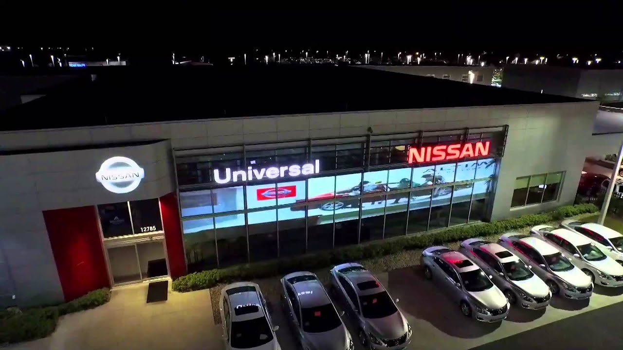 Universal Nissan - Ride of YOUR LIFE!! Smart Gl - YouTube