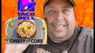 Taco Bell® NEW! Spicy Cheesy Core Burrito Review!