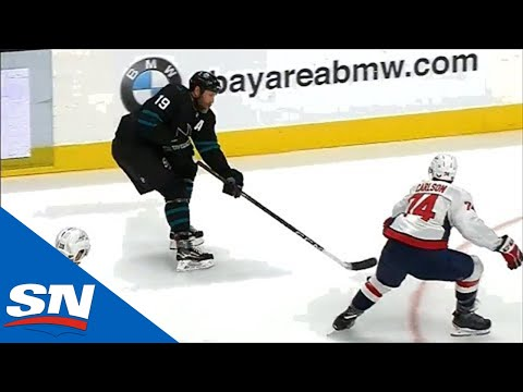 Joe Thornton Sets Up Kevin Labanc With A Sweet Feed, Passes Teemu Selanne On All-Time Scoring List
