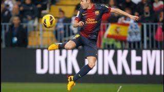 Andres Iniesta Amazing Dribbling vs 3 Players - RCD Espanyol vs FC Barcelona 0-0 2016