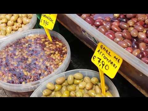 Rhodes Farmers Market 2018 Greece