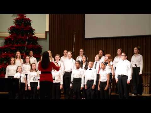 Blackman Middle School Select Choir Christmas 2014