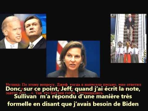 Ukraine, la manipulation américaine (audio: Victoria Nuland/G. Pyatt -ambassadeur US en Ukraine-