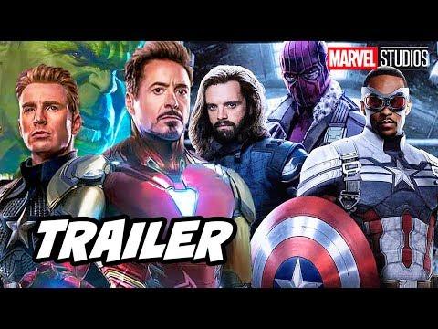 Avengers Infinity Saga Trailer - Falcon and Winter Soldier Marvel Phase 4 Breakdown