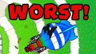 Bloons TD Battles - Top 5 Worst Towers! | BTD Battles Worst Towers