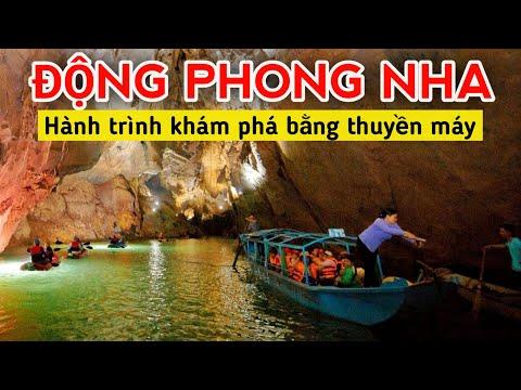 ♦️Hành trình khám phá toàn cảnh ĐỘNG PHONG NHA (Quảng Bình) bằng thuyền máy trên sông Son Xê Dịch TV