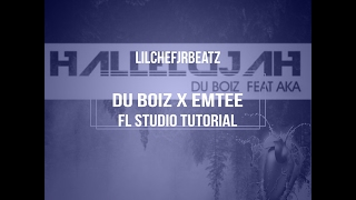 How to Change a Du Boiz beat Hallelujah to Emtee Type beat FL STUDIO 12 Tutorial