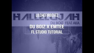 How to change a du boiz beat hallelujah emtee type fl studio 12 tutorial