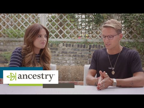 Binky and Proudlock discover their AncestryDNA results