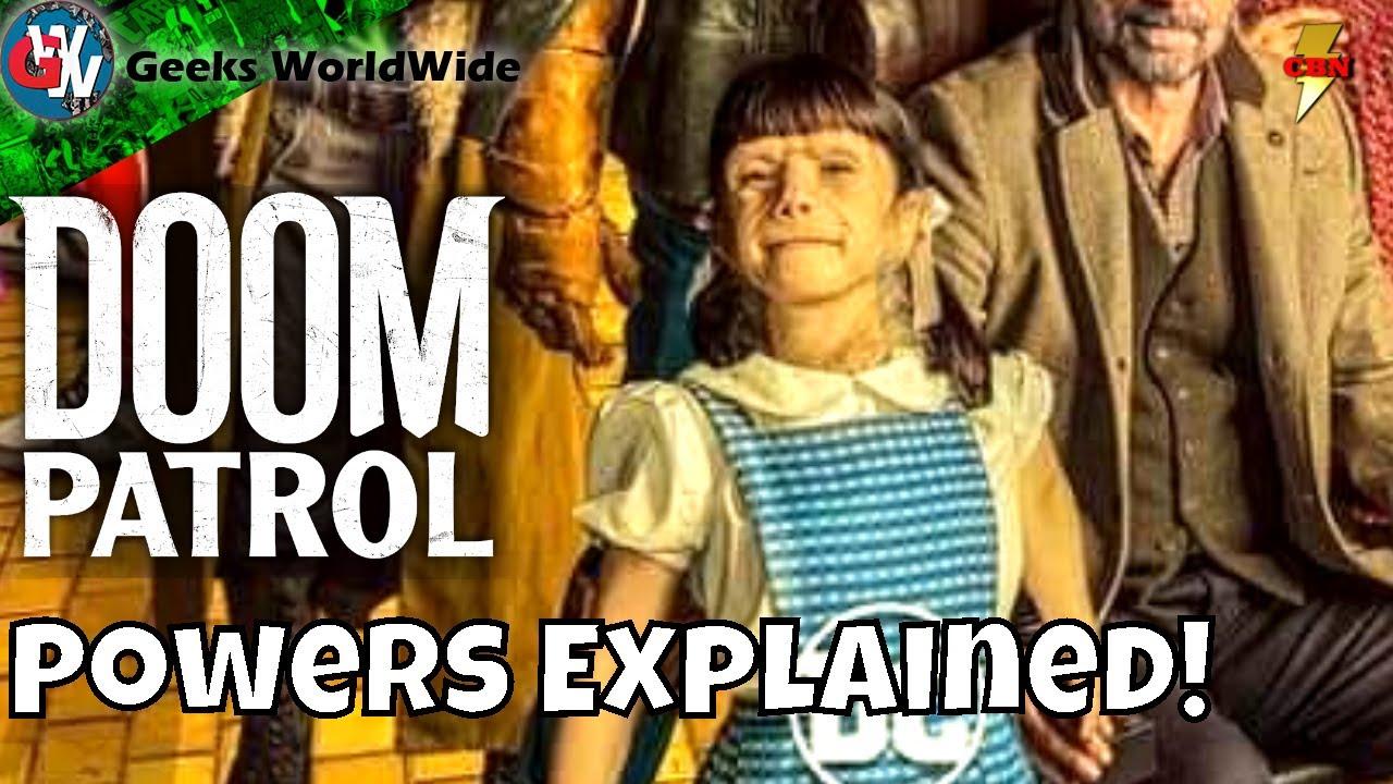 Doom Patrol Season 2 Dorothy Spinner Explained Hbomax News Youtube