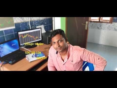 Live Trading In Tamil | Rs 500 To Rs 10000 Profit | Attempt 2 | VillageTrader