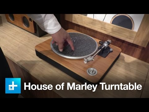 House of Marley Turntable - Hands on at CES 2016