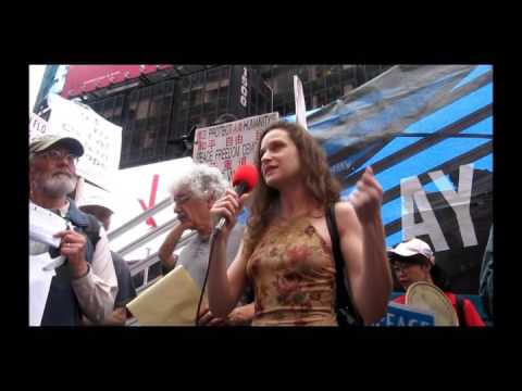 Status of the Ukraine / NYC Rally Opposing NATO Expansion, July 9, 2016