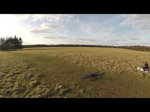 Eco-Fly RC Solar Plane