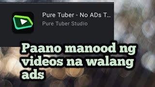 Manood ng Video sa Yt na walang ads screenshot 5