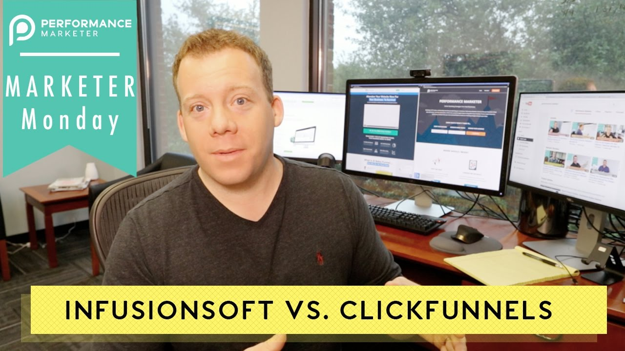 Infusionsoft Vs. ClickFunnels | Marketer Monday 35