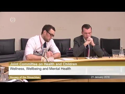 Bressie gives powerful speech to the Oireachtas Joint Committee